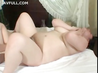 japanese lesbians rub pussy and play with each