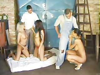 5 slits 5 dicks..party time!!