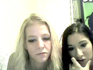 my friend and i playing on webcam