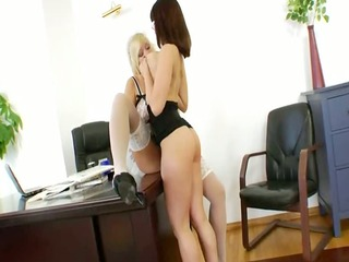 brutal office butthole babes ass group-fucked